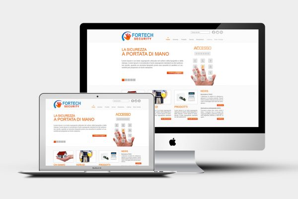 Design grafico Fortech