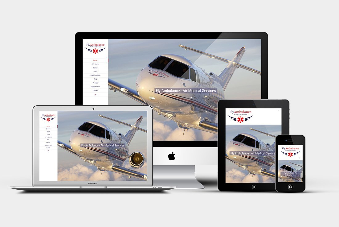 Sito web Fly Ambulance