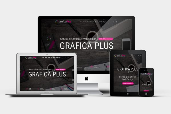 Sito web Grafica Plus