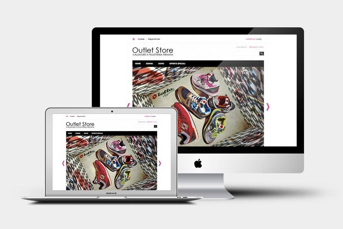 Ecommerce Outlet Store Martina