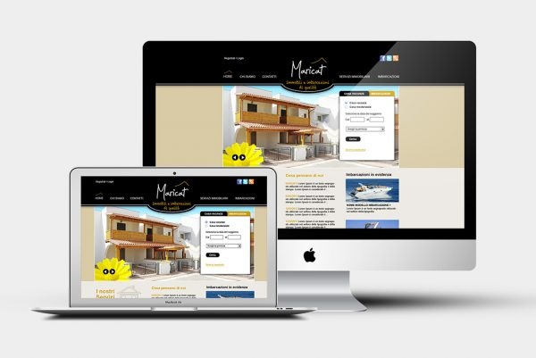 Design grafico Maricat