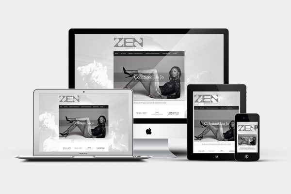 Sito web Zen Boutique