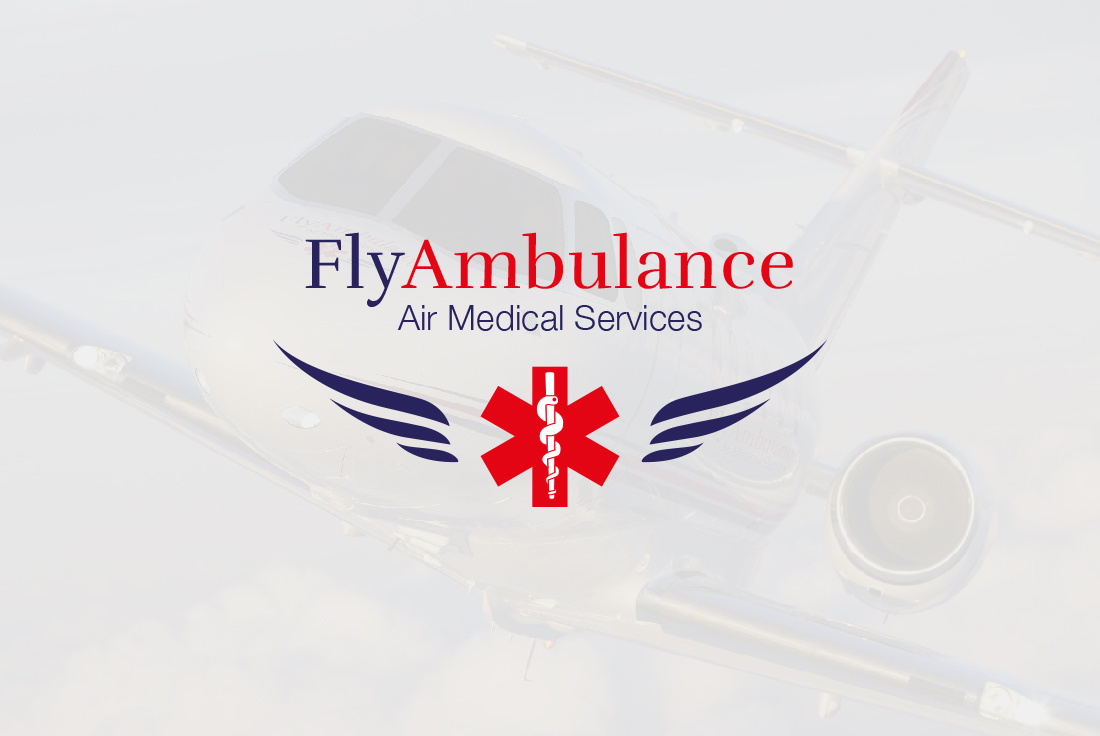 Logo Design Fly Ambulance