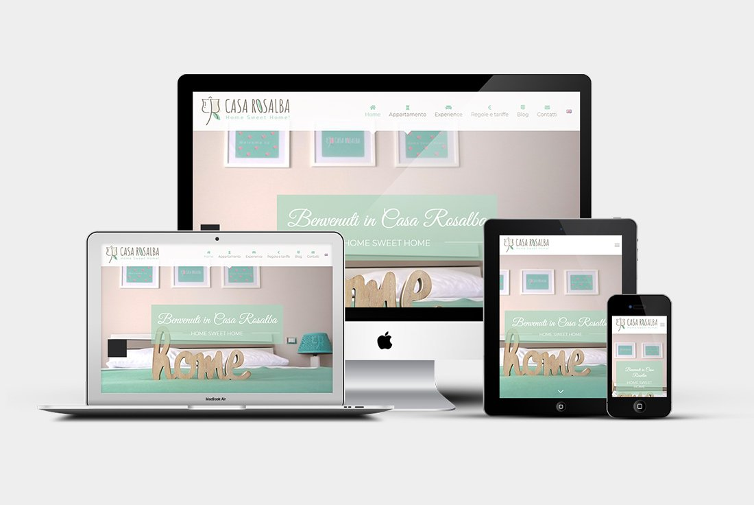 Sito web Casa Rosalba