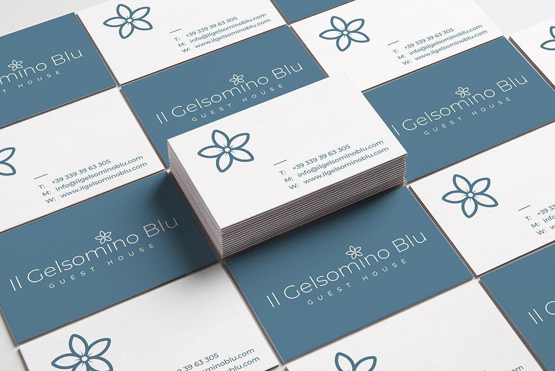 Logo design Il gelsomino blu