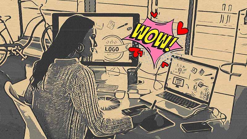 grafico freelance guadagno