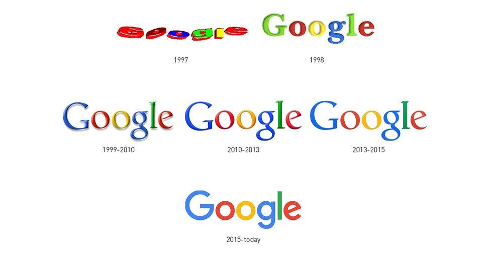 restyling logo google