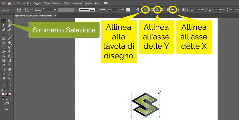 logo vettoriale modifica con illustrator