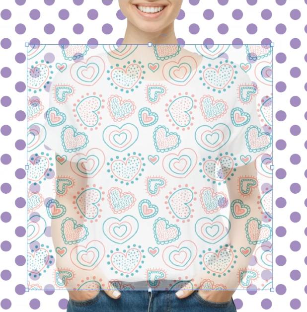 creare pattern t-shirt photoshop