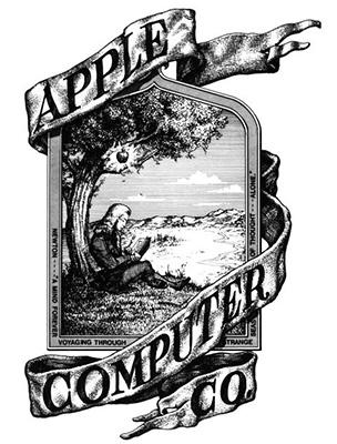 logo apple prima versione