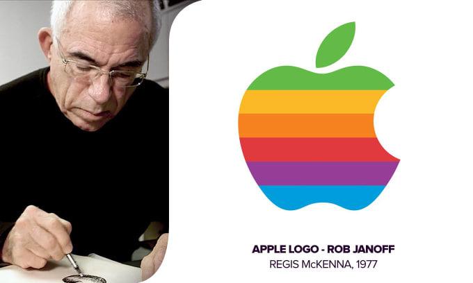 janoff crea logo apple