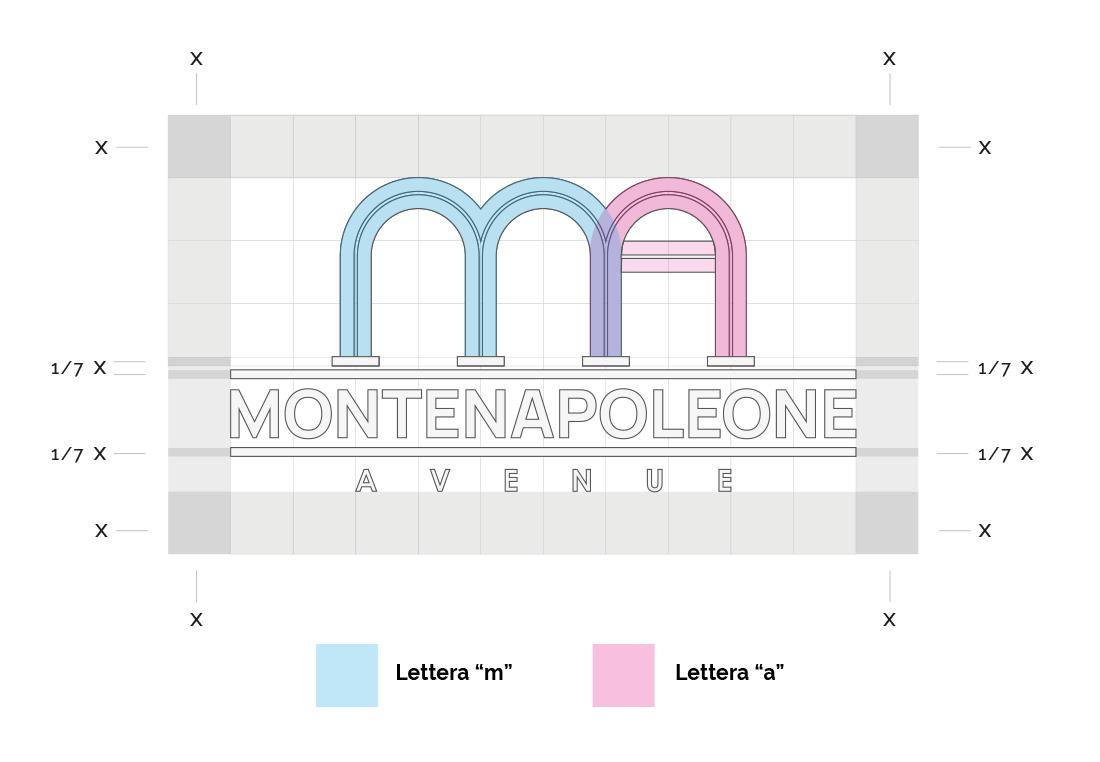logo personalizzato griglia disegno
