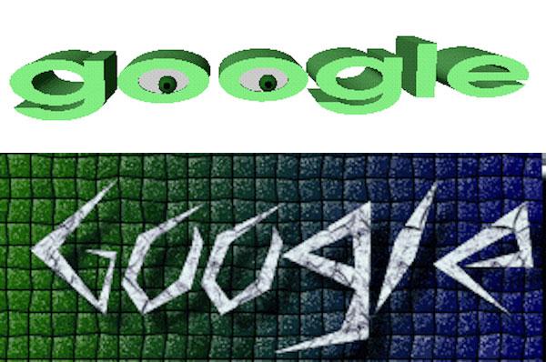 bozze del logo google