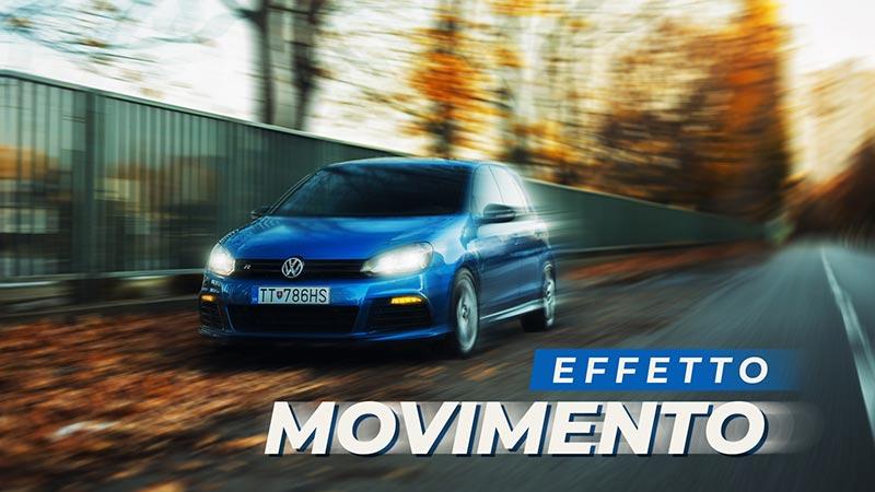 effetto movimento photoshop