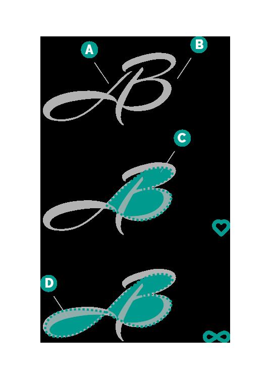concept logo monogramma