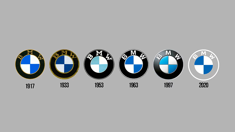 logo bmw restyling