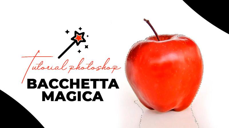 bacchetta magica photoshop