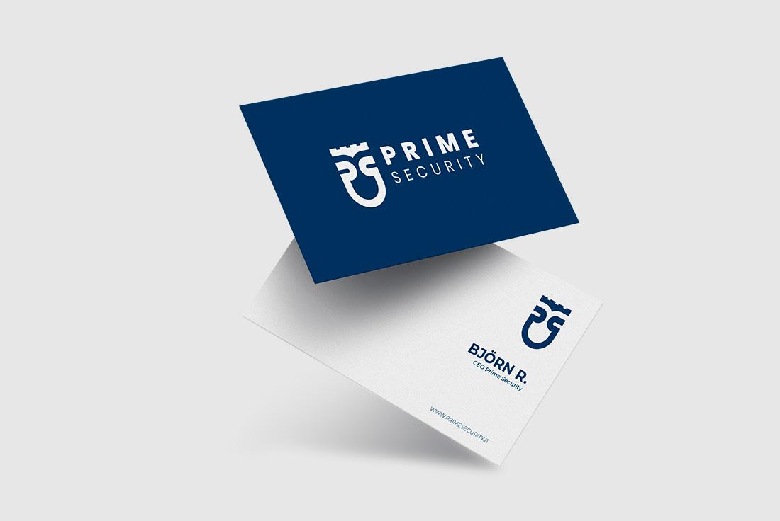 creazione logo prime security