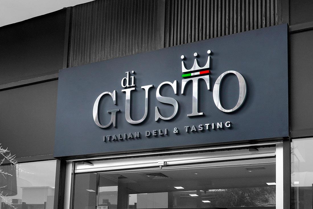 Logo design Digusto