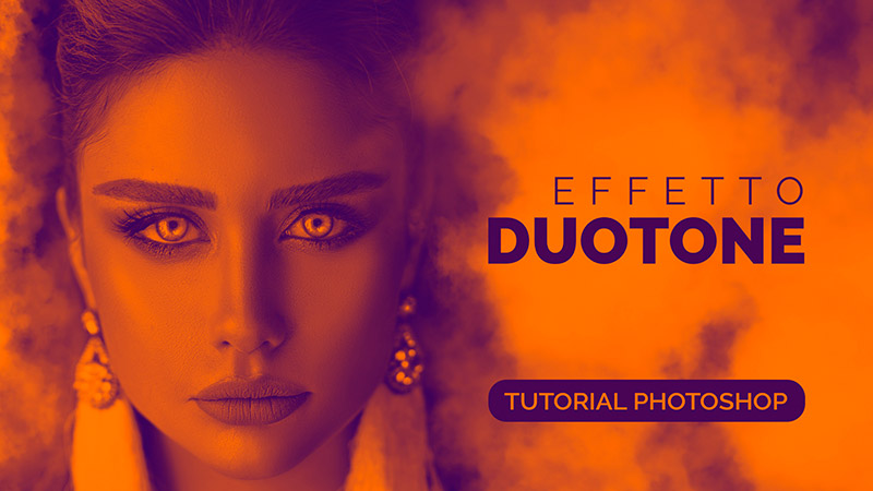 effetto duotone photoshop