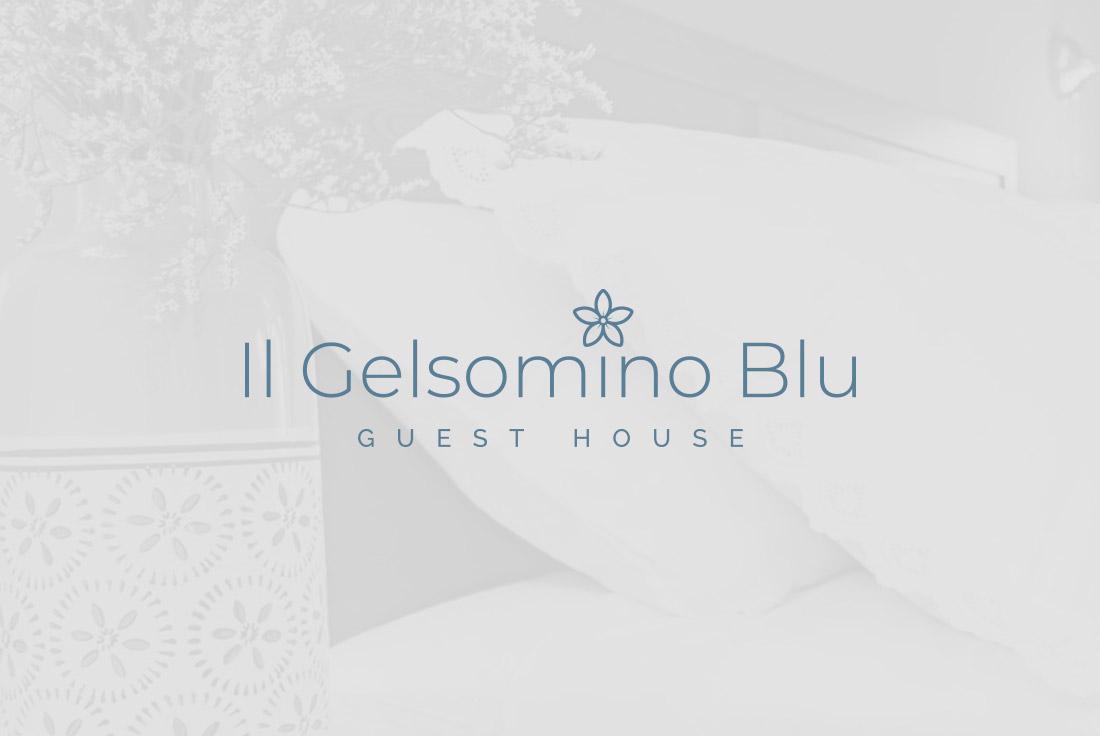 logo design gelsomino blu