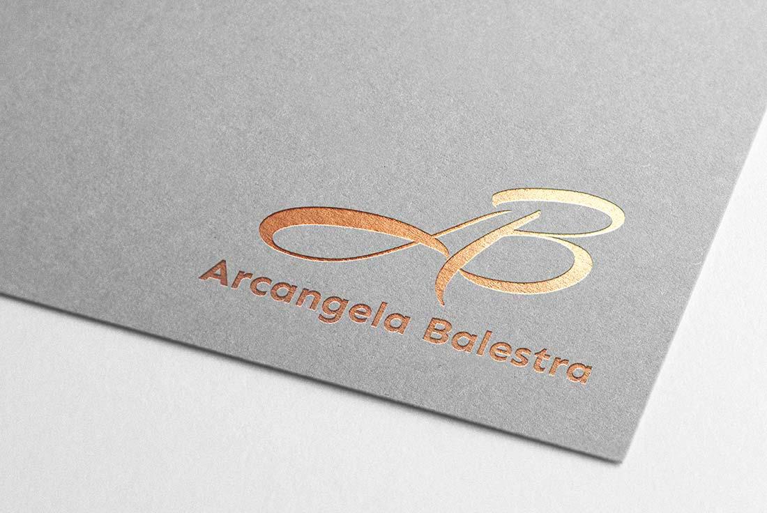 monogramma logo A. Balestra