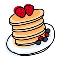 dei deliziosi pancake