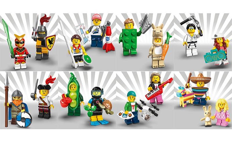 mini figures lego