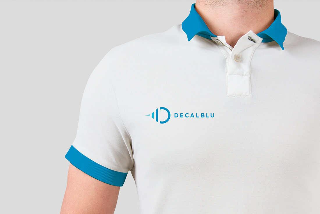 Logo Design Decalblu