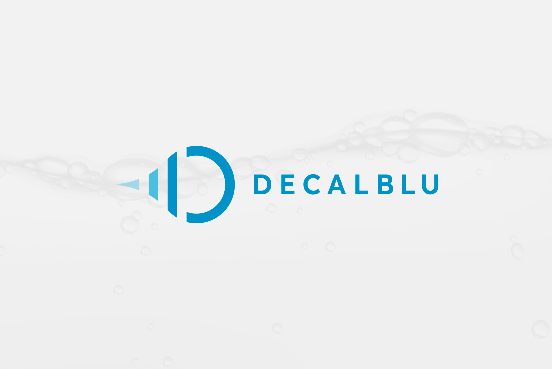 Logo design per Decalblu