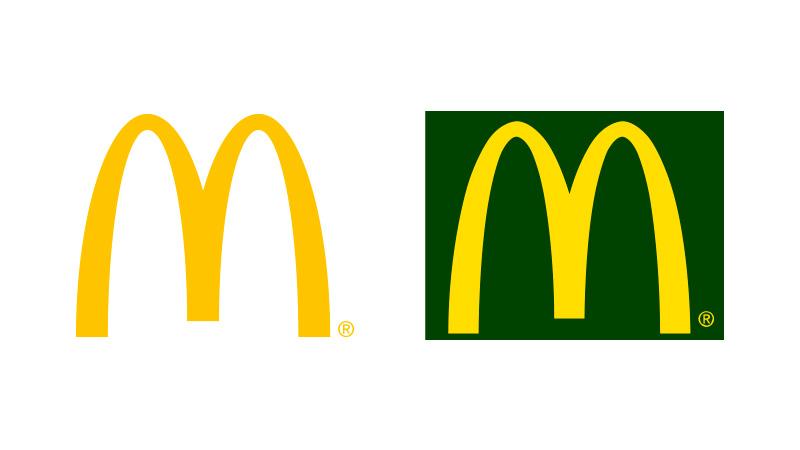 logo mcdonalds versione eco