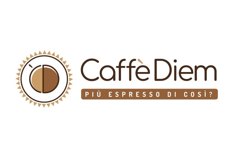 caso studio logo caffè diem