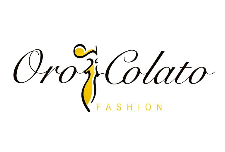 caso studio logo oro colato fashion