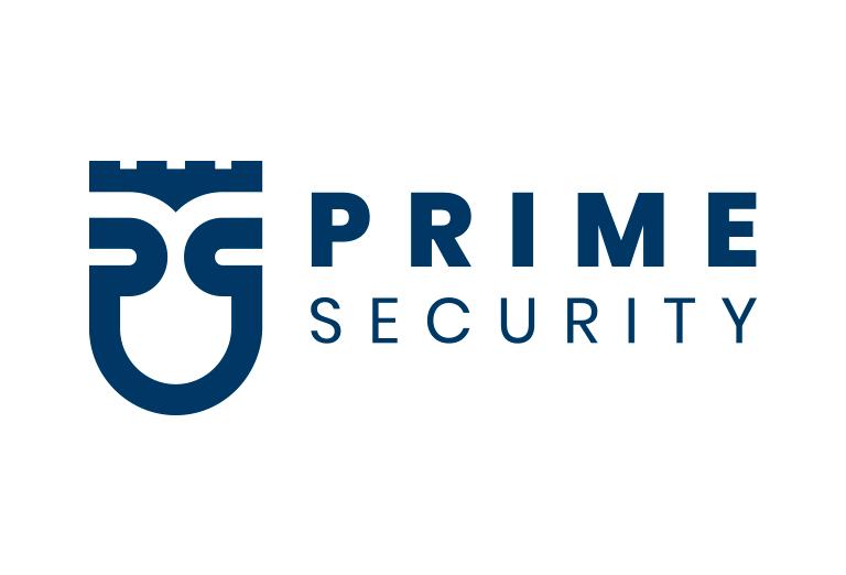 caso studio logo prime security