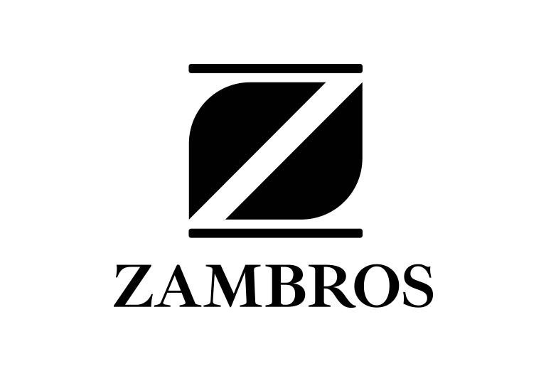 caso studio logo zambros
