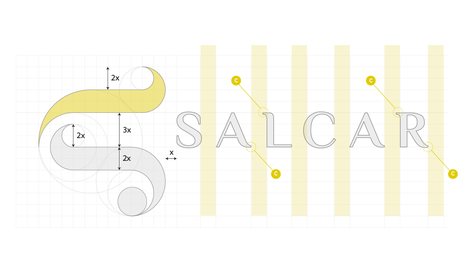 lettering logo concessionaria auto