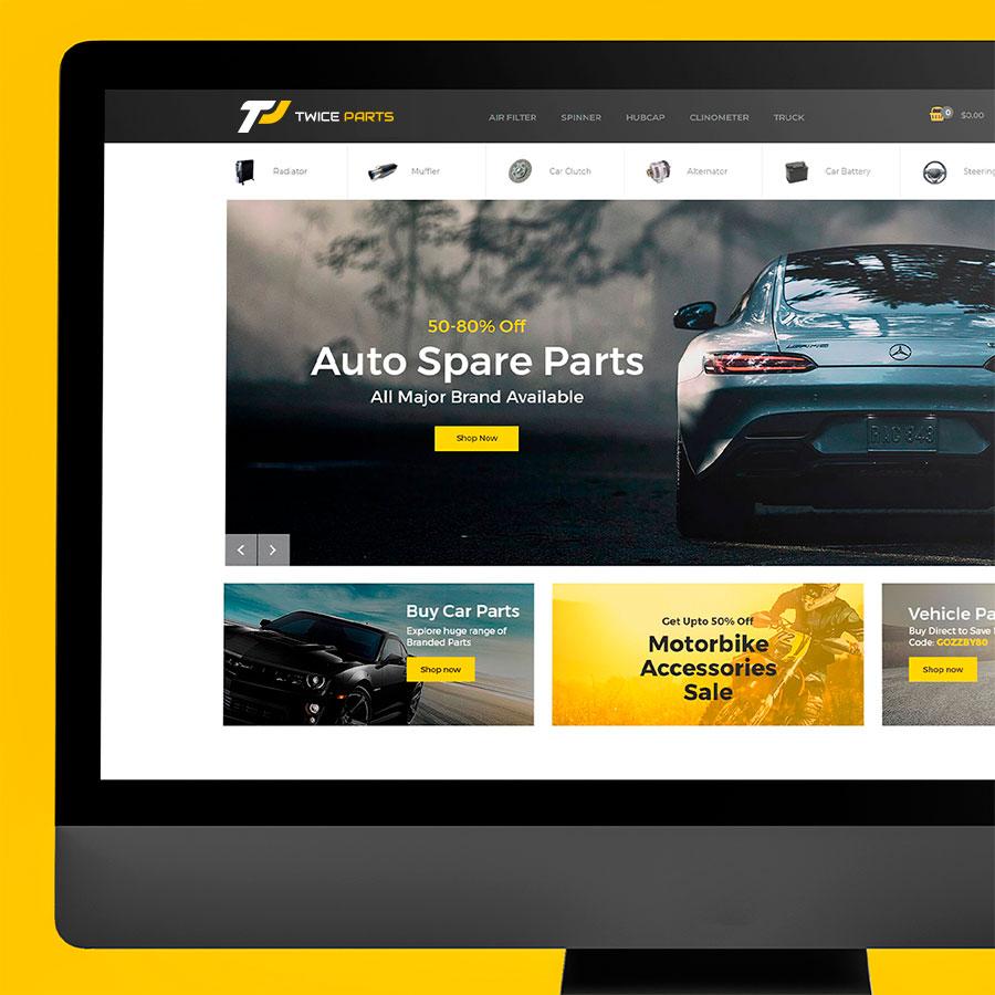 ecommerce twice parts