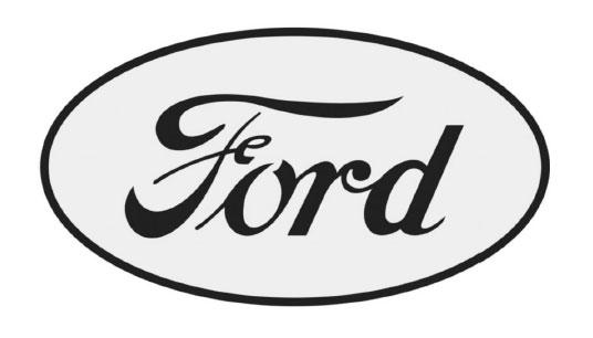 logo 1917 ford minimal