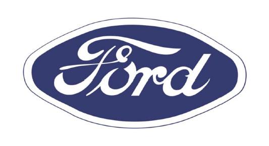 logo ford 1957