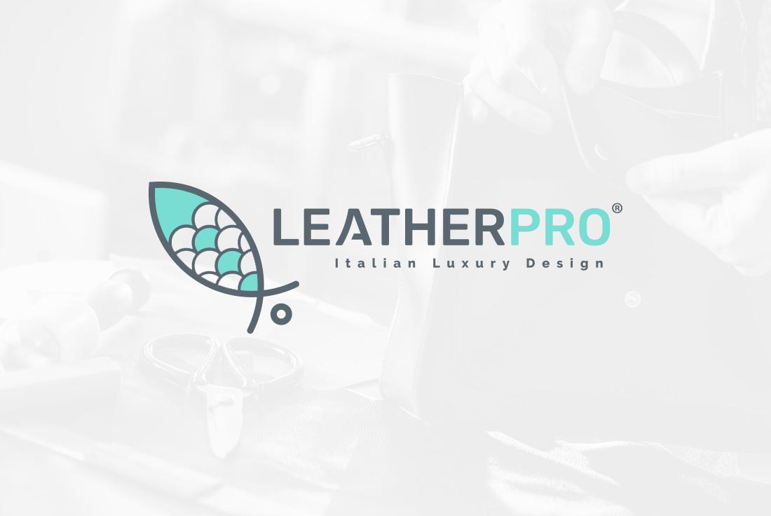 Logo design Leather Pro