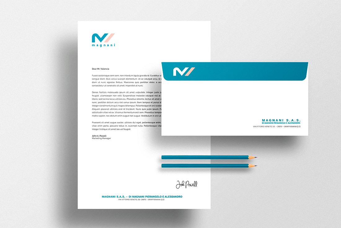 Logo design Magnani